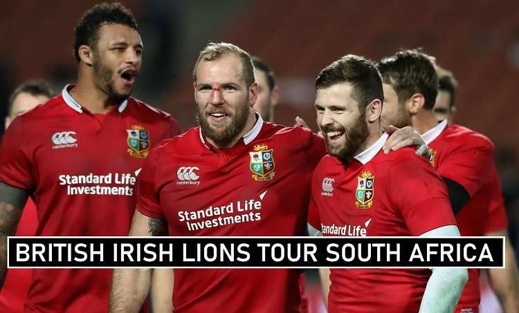 British Irish Lions Schedule 2021