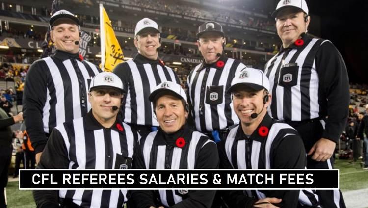 CFL Referees Per Match Fees 2020