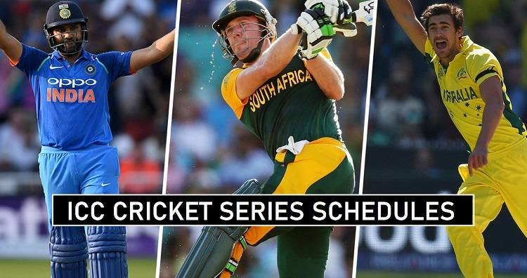 Cricket Schedule 2020-21 Announced ICC Tournaments Dates