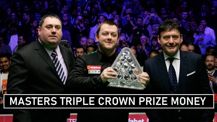 Snooker Masters Prize Money 2020