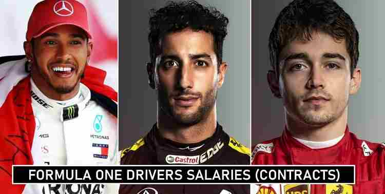 Formula 1 Drivers Salaries 2020 Contract Details Revealed