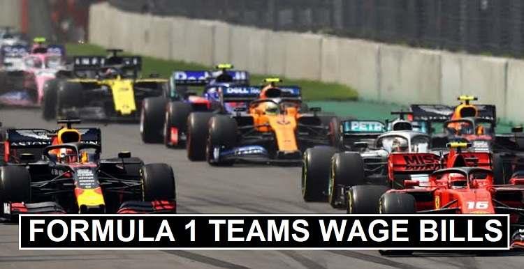 Formula 1 Teams Wage Bills 2020 Staff Expenses Revealed