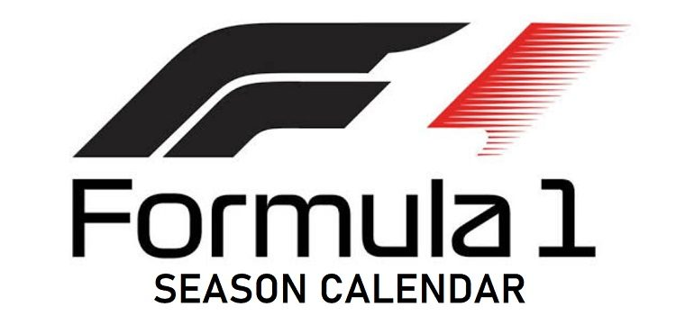 F1 2020 Season Race Schedules