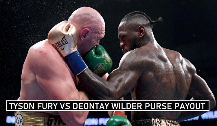 Fury vs Wilder Winning Share
