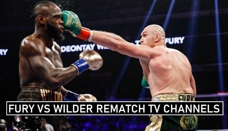 Fury vs Wilder TV Coverage 2020