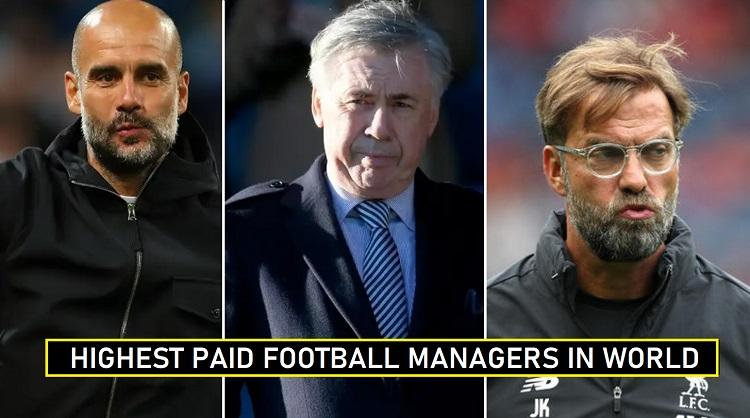 Highest Paid Football Managers 2020 Annual Salaries Revealed