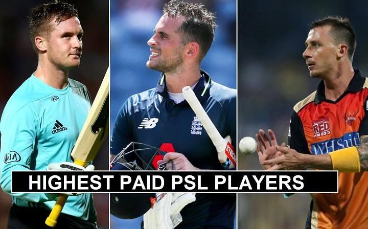 Highest Paid Pakistan Super League Players