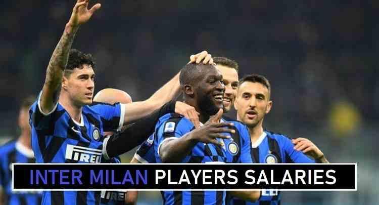 Inter Milan players salaries wages