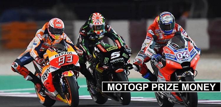 MotoGP riders Prize money