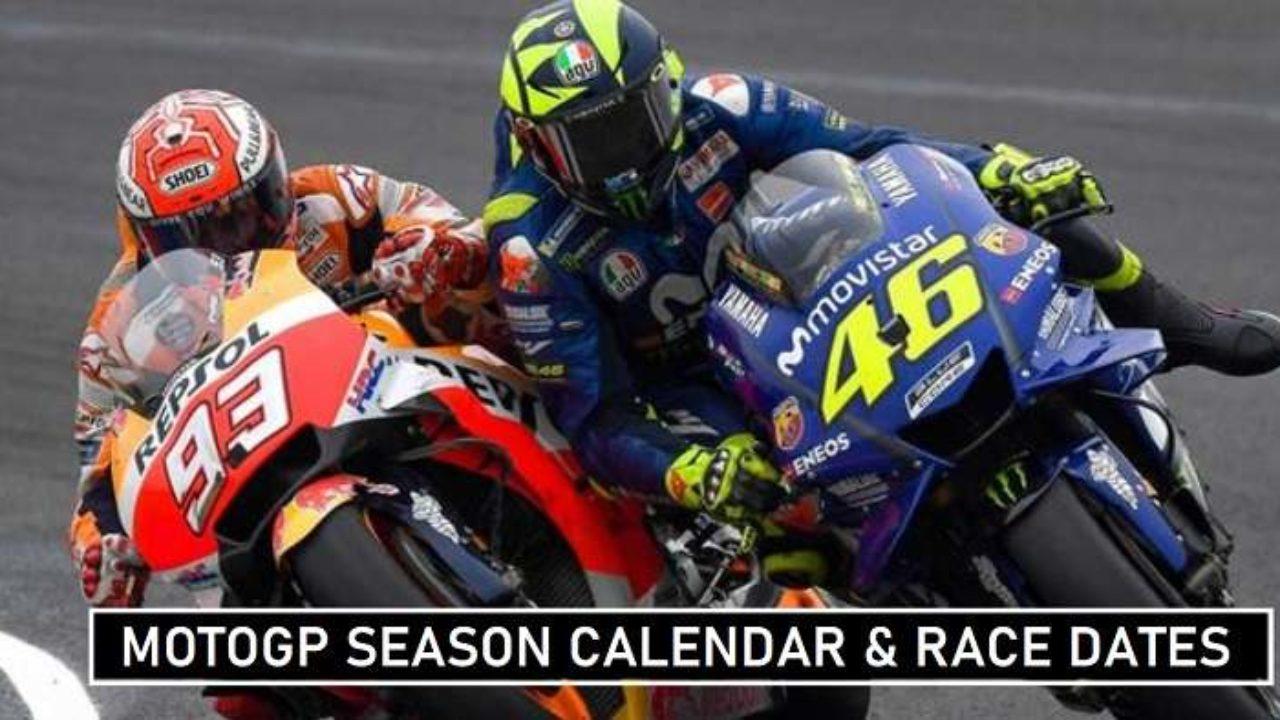 Motogp 2020 Season Calendar Venues Confirmed