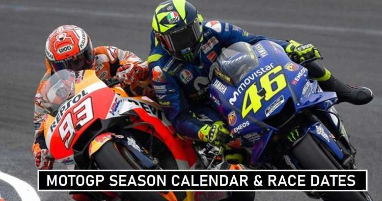 MotoGP Season 2020 Schedules