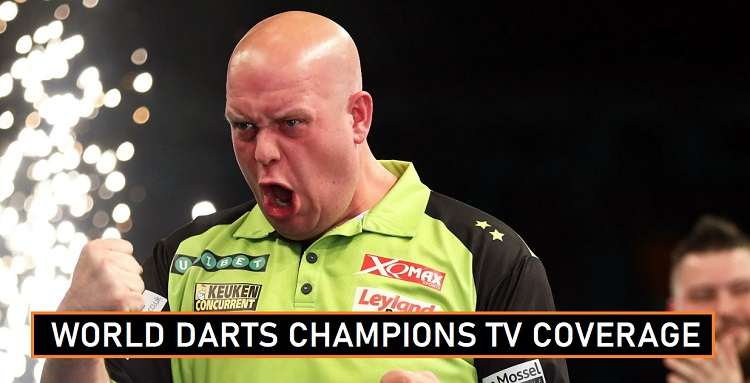 World Darts Championship TV Channels