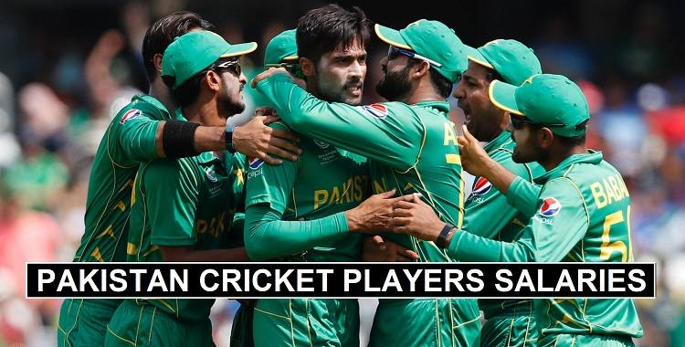 Pakistan Cricketers Salaries 2020