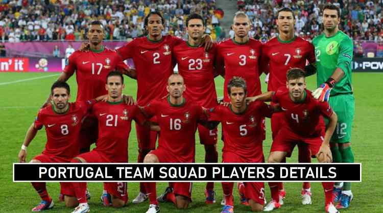 Portugal Euro 2020 Squad Announced