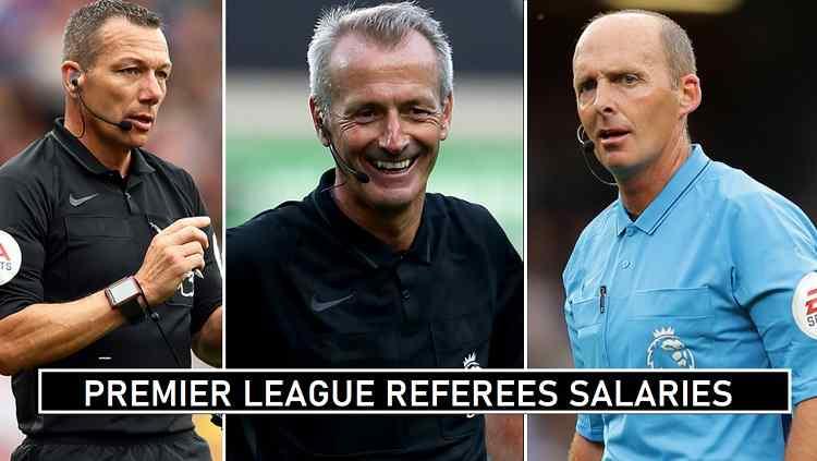 Premier League Referees per match fees
