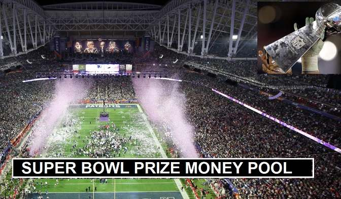 Superbowl 2020 Prize money pool