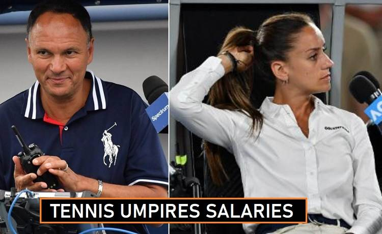 Tennis Umpires Salaries 2020 Match Fees Revealed