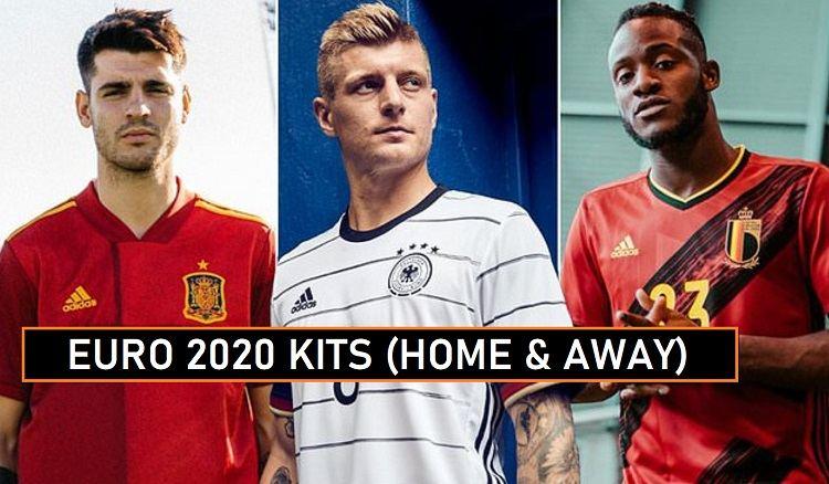 UEFA Euro 2020 Kits Leaked Online