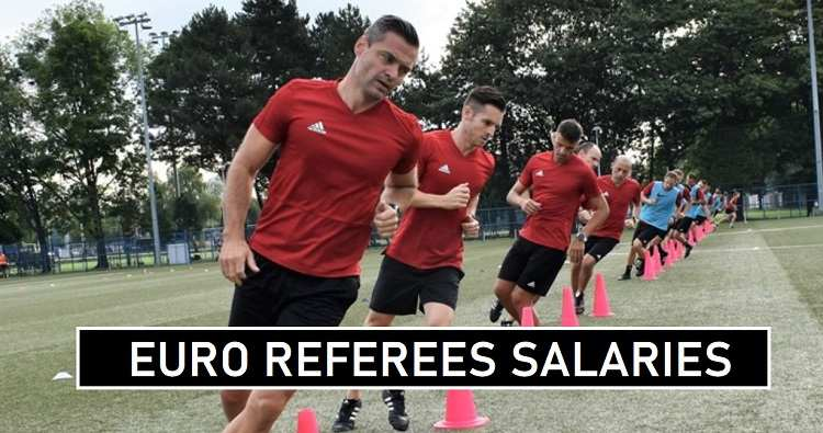 Euro Referees 2020 Match Fees