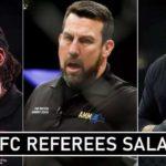 UFC Referees Match Fees
