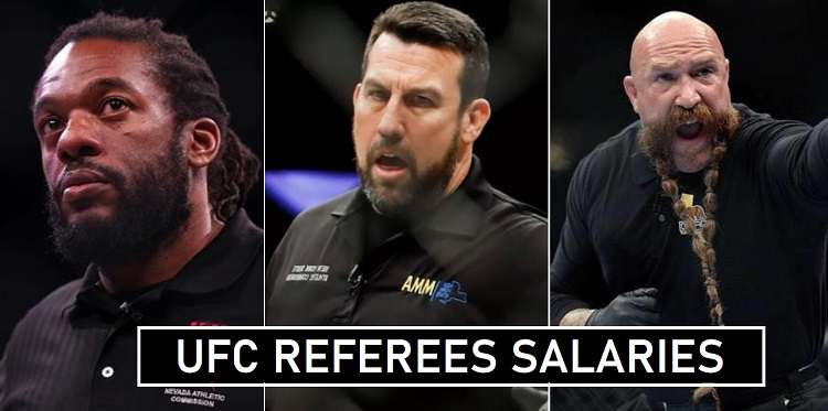 UFC Referees Match Fees