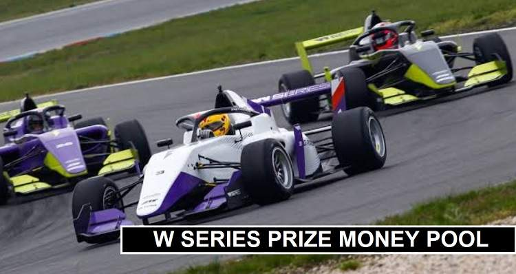 WSeries Prize Money Winners Share