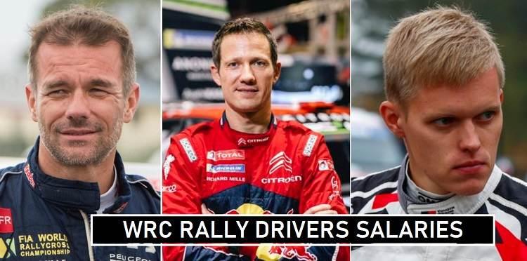 WRC Drivers Per Race Fees