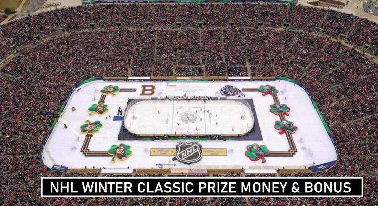 NHL Winter Classic Players Prizes