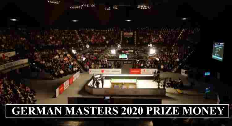 German Masters Prize Money