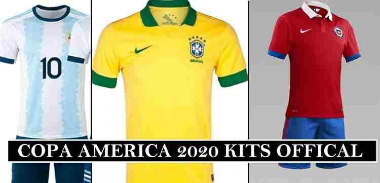 Copa America 2020 Kits