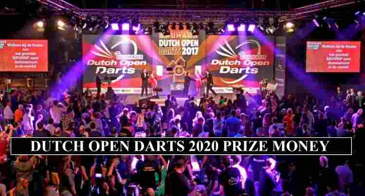 Dutch Open Prize Money