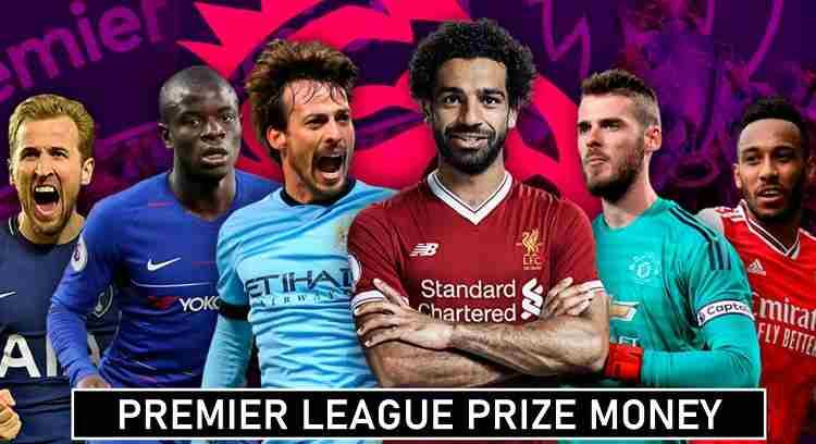 Premier League Prize Money Tv rights