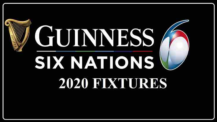 Six Nations 2020 Fixtures