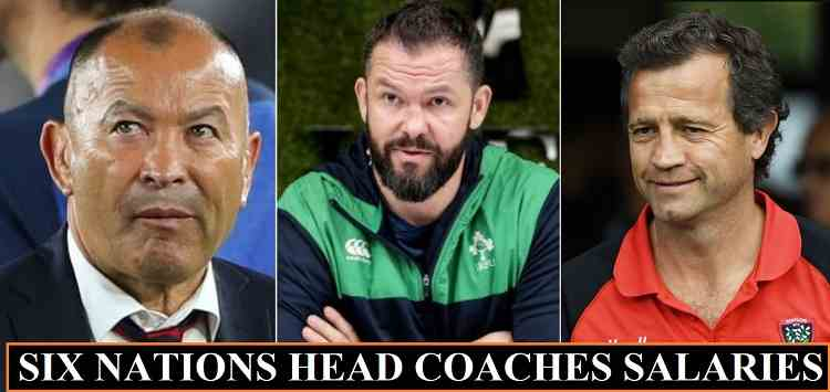 Six Nations Coaches Salaries