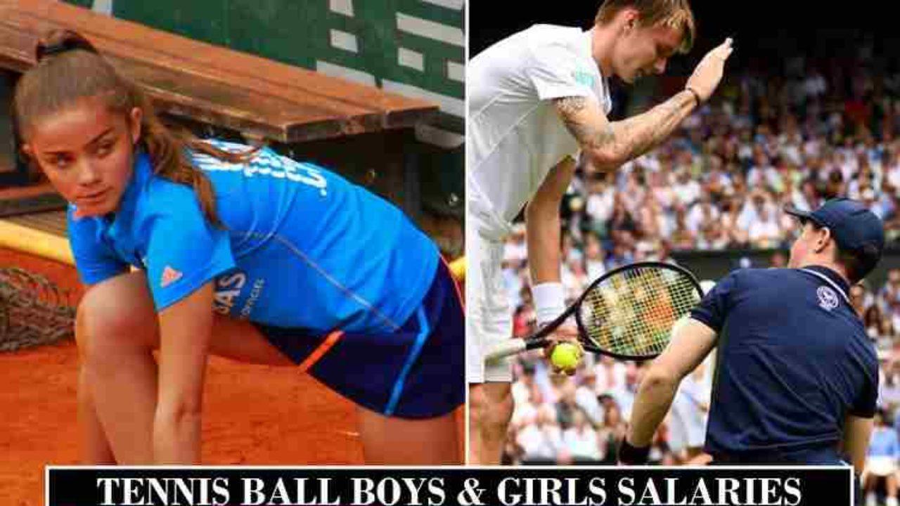 Tennis Ball Boys Girls Salaries 2020 Grand Slam Atp Wta Tours