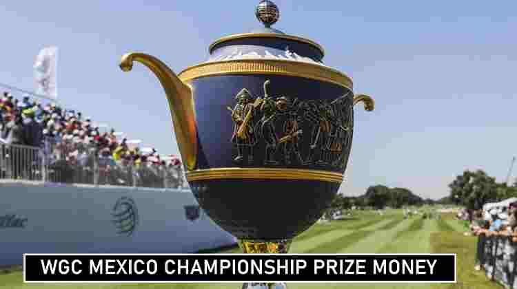 WGC Mexico Championship Prize Money Share