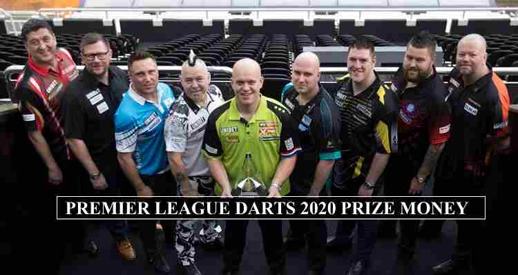 Premier League Darts Prizes