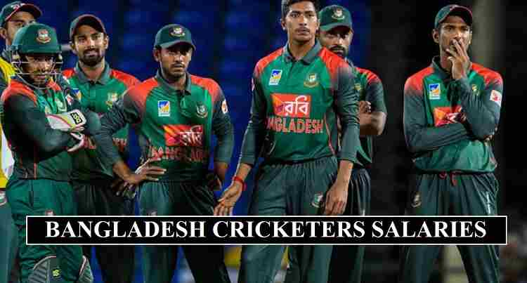 Bangladesh cricketers salaries