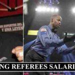 Boxing Referees salaries
