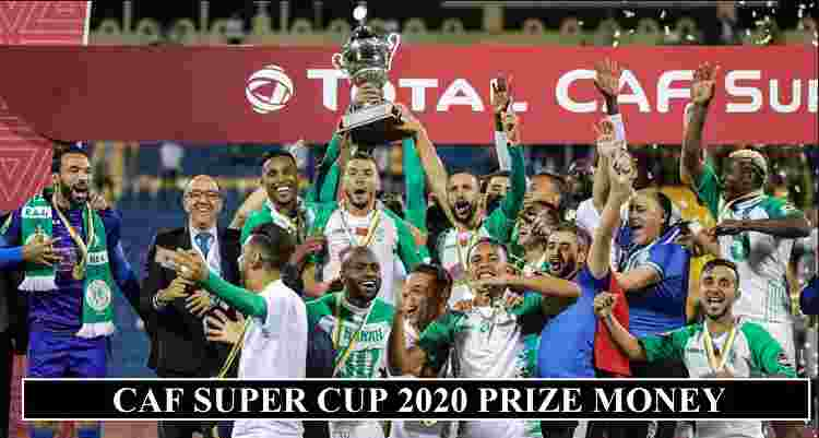 CAF Super Cup 2020 Prize