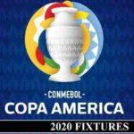 Copa America 2020 Fixtures