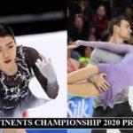 Four Continents Prize Money