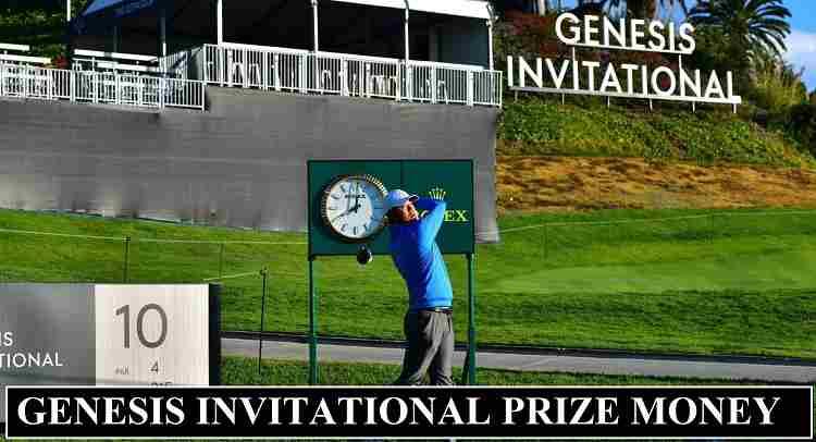 Genesis Invitational Prize Money