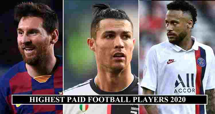 Highest Paid Footballers 2020