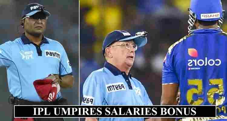 IPL Umpires Salaries