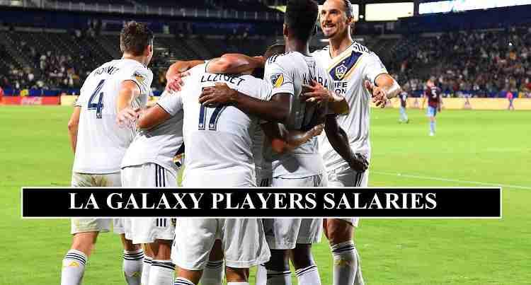 LA Galaxy players salaries