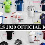 MLS 2020 Official kits