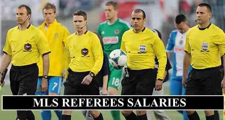MLS referees salaries