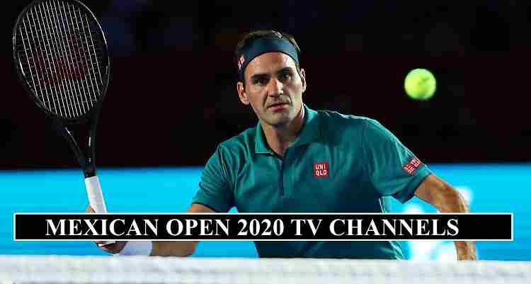 Mexican Open 2020 Channels