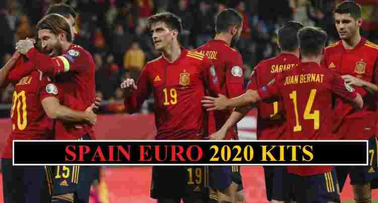 Spain Euro 2020 Kits